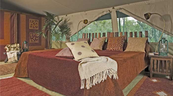 Luxury tent, Kicheche Laikipia Camp, Kenya