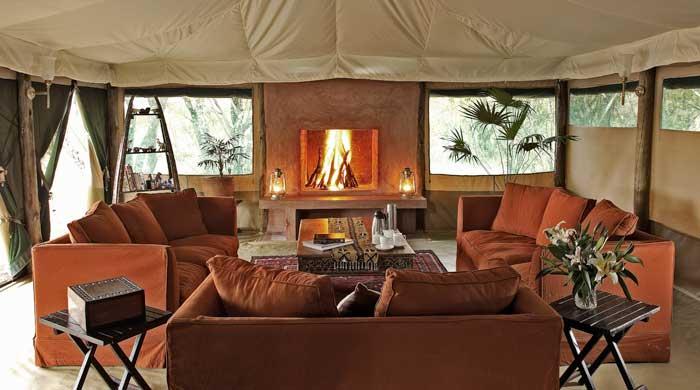 Lounge tent, Kicheche Laikipia Camp, Kenya