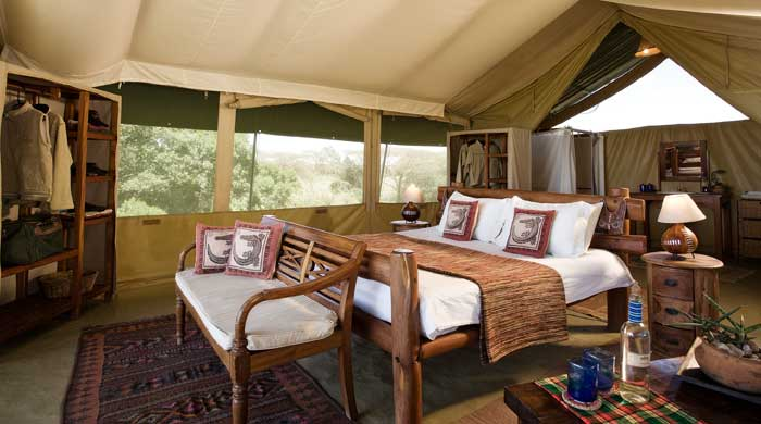 Luxury tent, Kicheche Mara Camp, Kenya