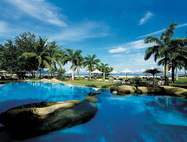 Shangri la Rasa Ria - Main Pool