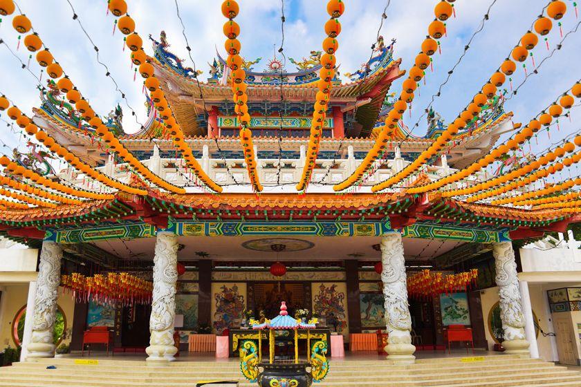 Temple in Kuala Lumpur, Malaysia
