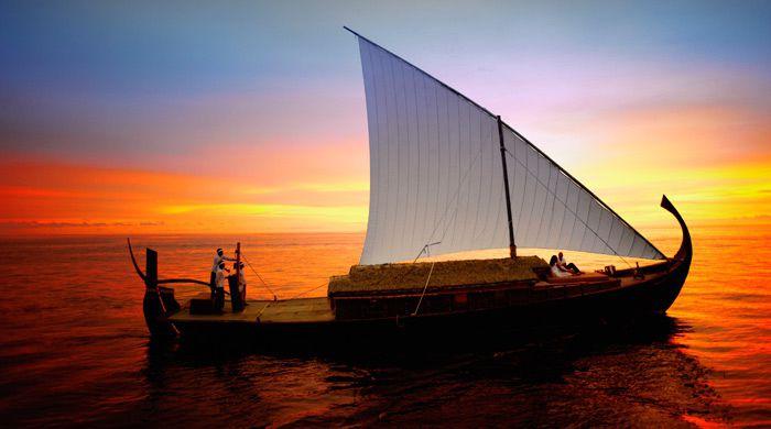 Sunset cruise, Baros Maldives