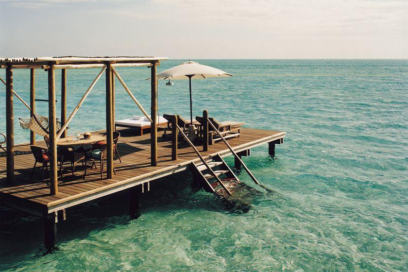 Sundeck - COMO Villa at Cocoa Island by COMO