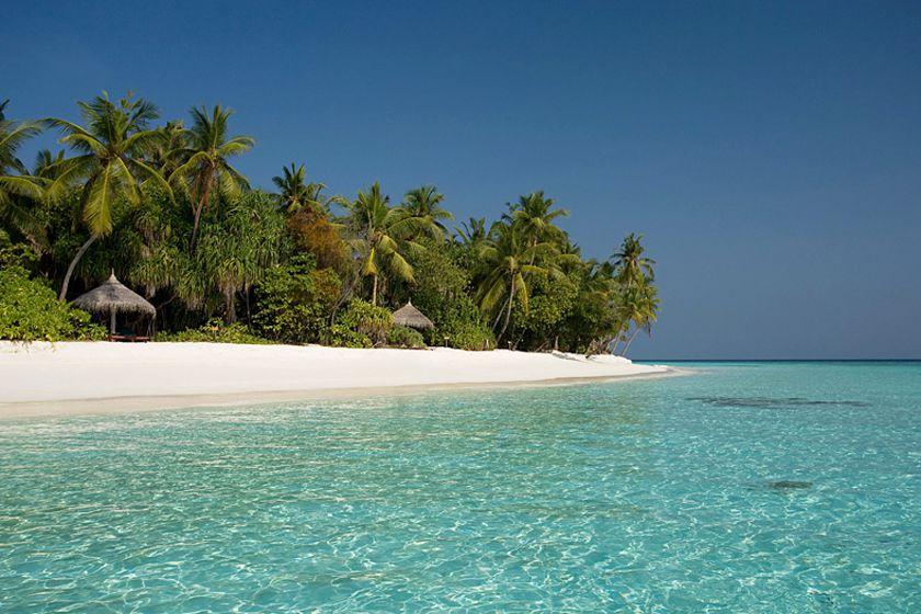 Beach at Coco Palm Dhuni Kholhu, Maldives