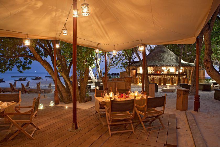 Alizee Restaurant at Constance Moofushi, Maldives