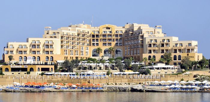 Corinthian Hotel St Georges Bay facade