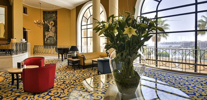 Corinthian Hotel St Georges Bay lobby