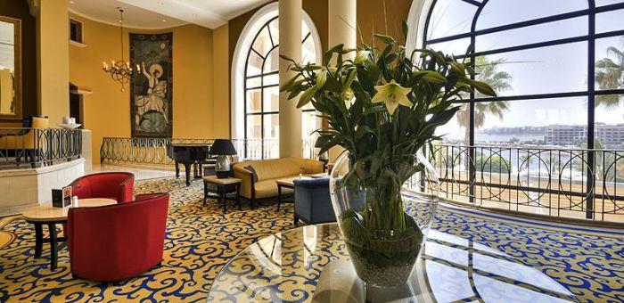 Corinthian Hotel St Georges Bay lobby