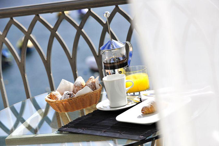 Breakfast at Hotel Juliani, Malta