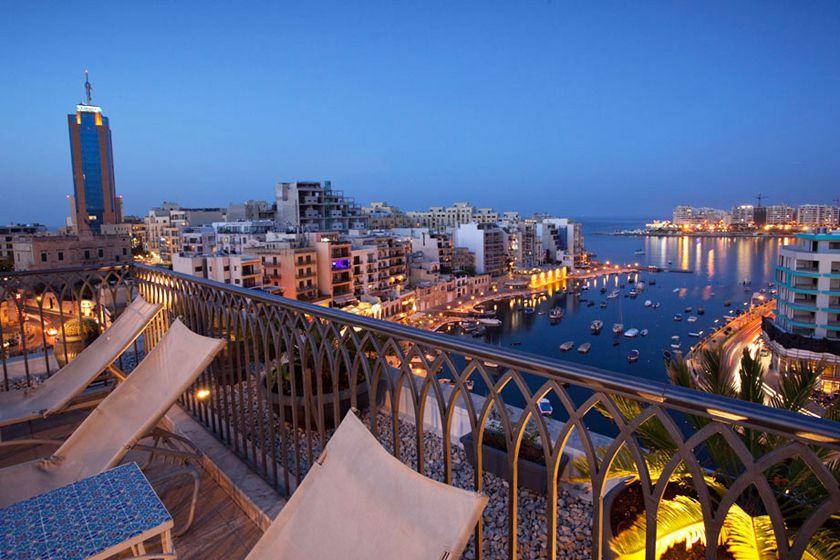 Rooftop at Hotel Juliani, Malta
