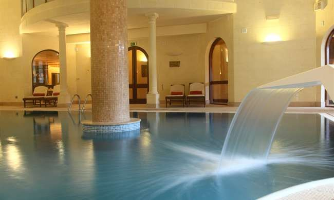 Spa pool at the Kempinski