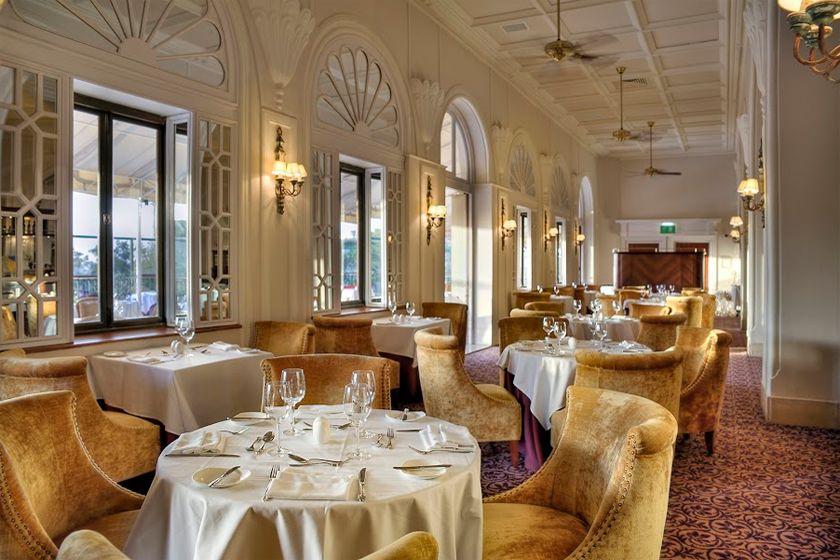 Dining at Hotel Phoenicia , Valletta, Malta