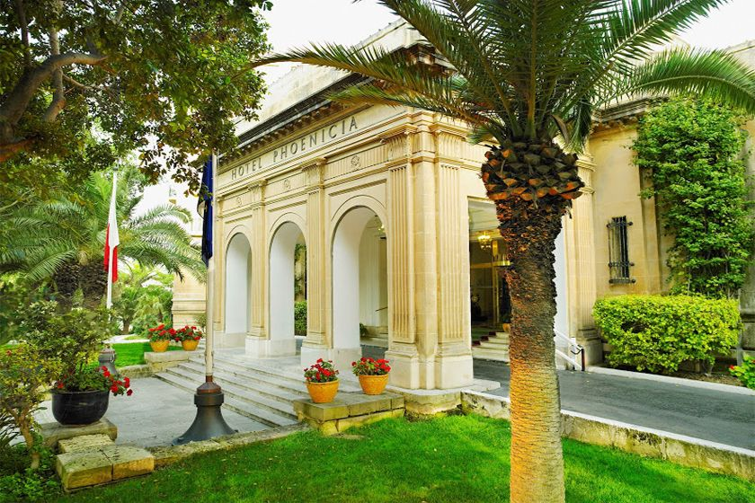 Hotel Phoenicia , Valletta, Malta