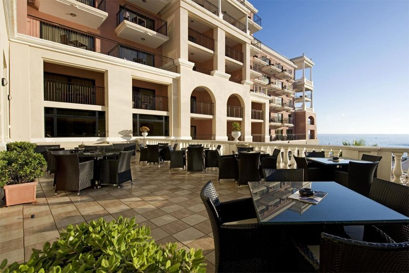Terrace at Westin Dragonara, Malta