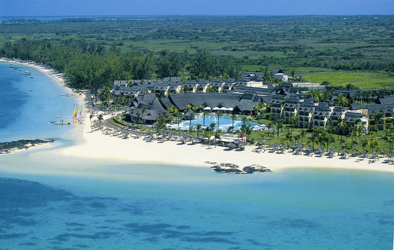 Ariel view of LUX* Belle Mare