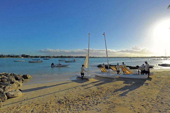 Beach at Le Mauricia, Mauritius