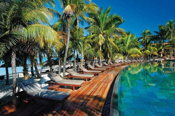 Pool at Le Mauricia, Mauritius
