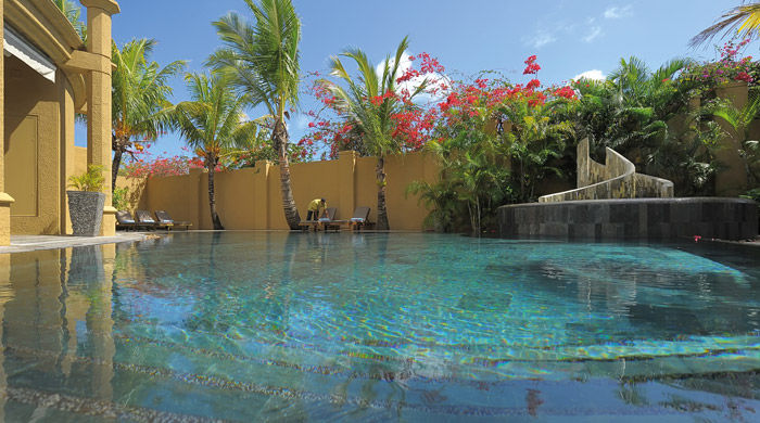 Pool at the Village, Le Mauricia, Mauritius