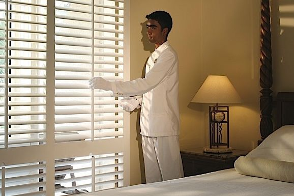 Personal butler at The Residence Mauritius