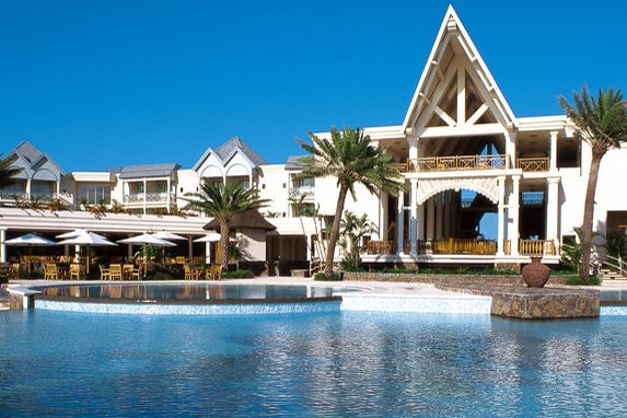 Exterior of The Residence Mauritius