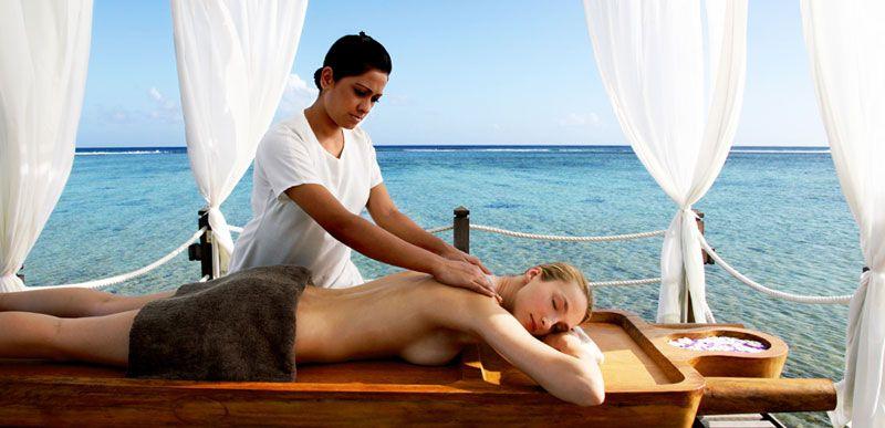 Ocean massage, Shanti Maurice