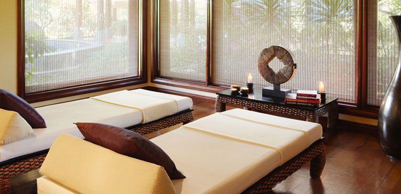 Nira Spa treatment room, Shanti Maurice