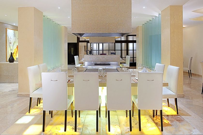 Azia Restaurant at Royal Hideaway Playacar Resort