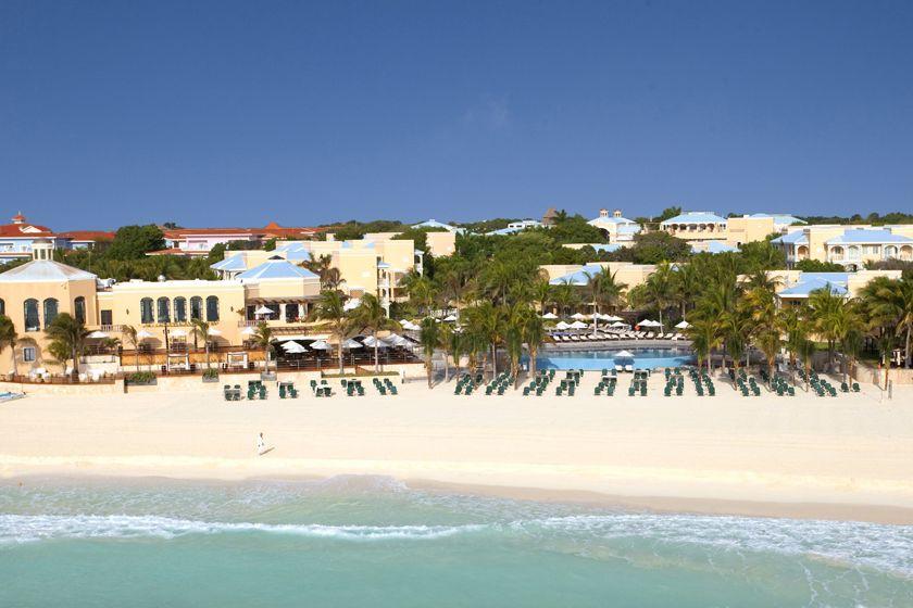 Beach at Royal Hideaway Playacar Resort