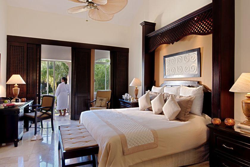 Luxury room at Royal Hideaway Playacar Resort
