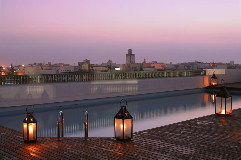 Hotel Heure Bleue, Rooftop Terrace