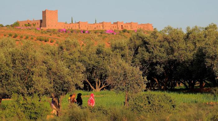 Kasbah Angour, Morocco