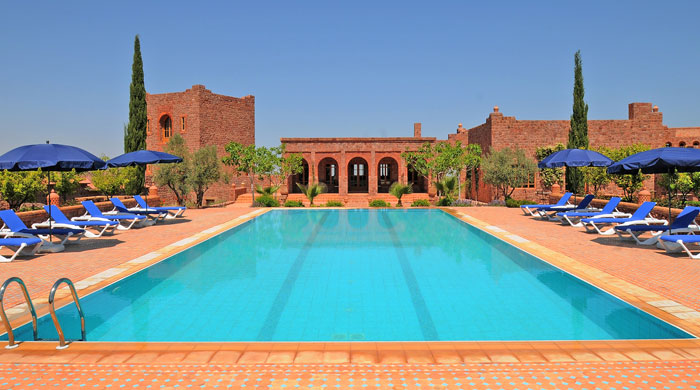 Pool at Kasbah Angour, Morocco