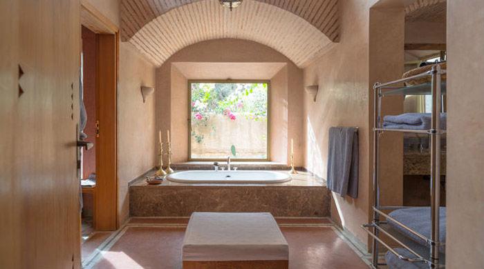 Bathroom, La Gazelle D'Or, Morocco