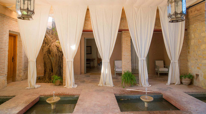 The spa, La Gazelle D'Or, Morocco