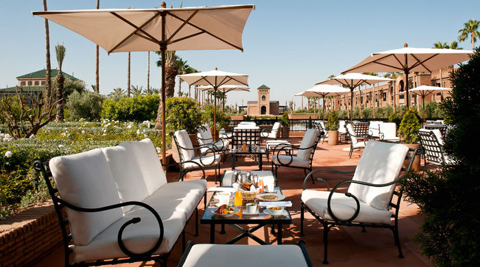 Breakfast at Selman Marrakech, Morocco
