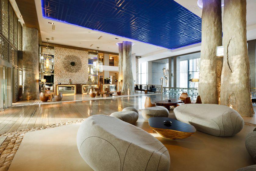 Lobby at Sofitel Essaouira Mogador Golf & Spa, Morocco