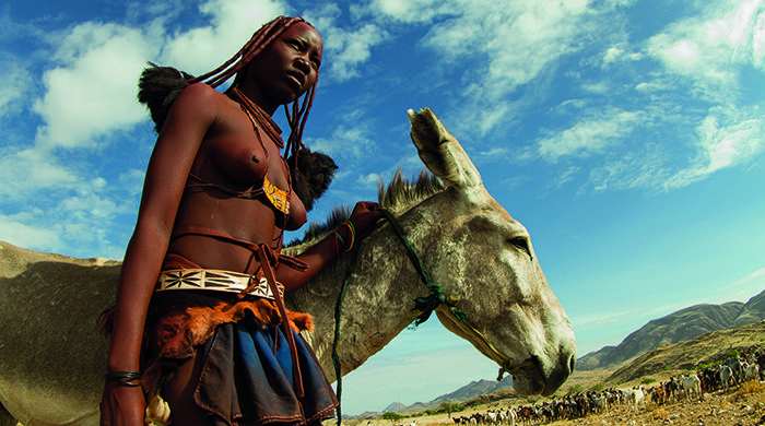 Himba cattle herder