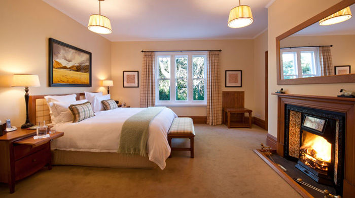 Butler Suite at Otahuna Lodge, Christchurch