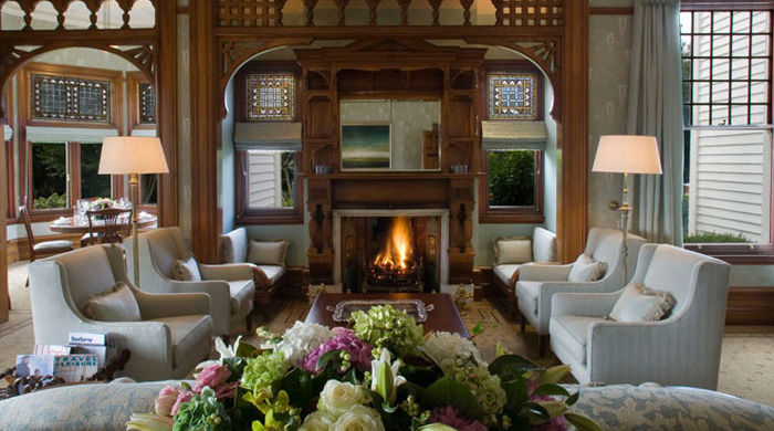 Drawing Room at Otahuna Lodge, Christchurch