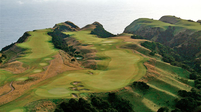 Golf at The Farm at Cape Kidnappers