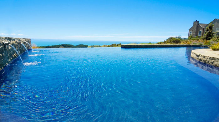 Pool at The Farm at Cape Kidnappers