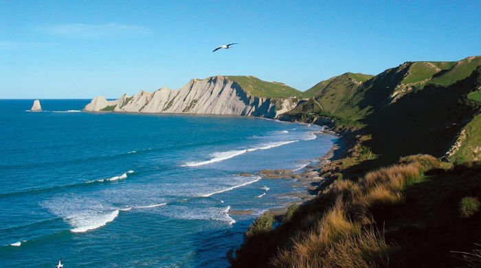 Coastal views at The Farm at Cape Kidnappers
