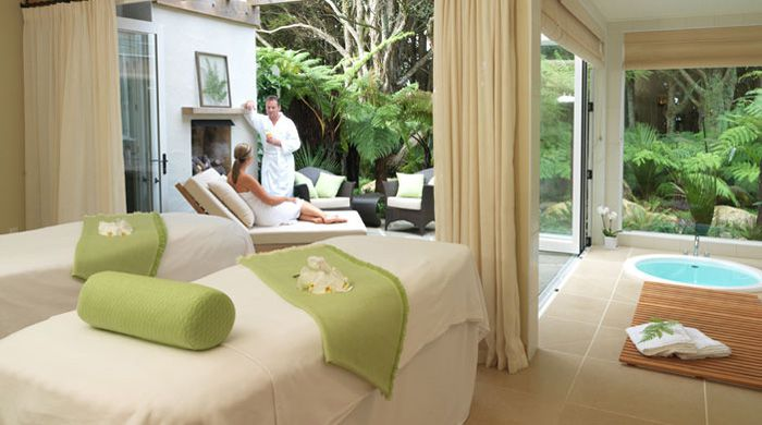 Spa at The Lodge at Kauri Cliffs, New Zealand