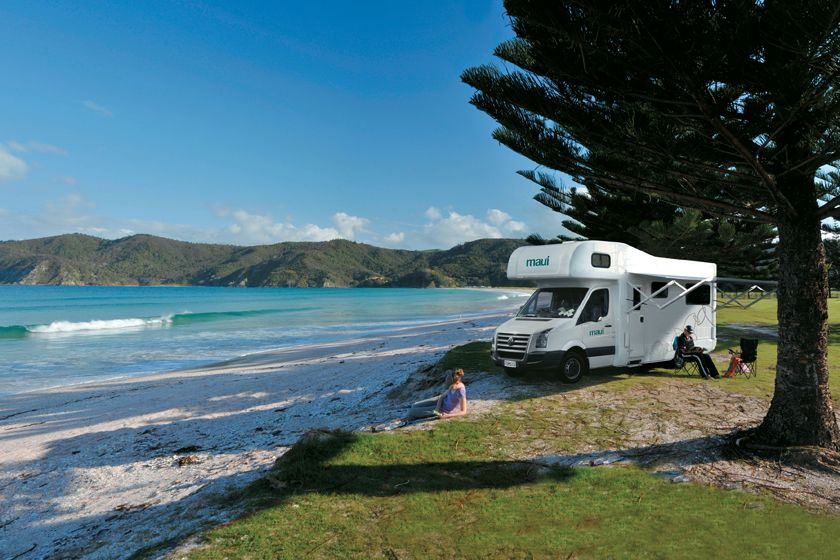 Maui Motorhomes, New Zealand
