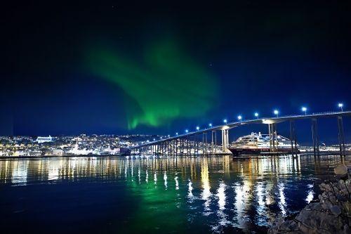 Hurtigruten cruise in Tromso