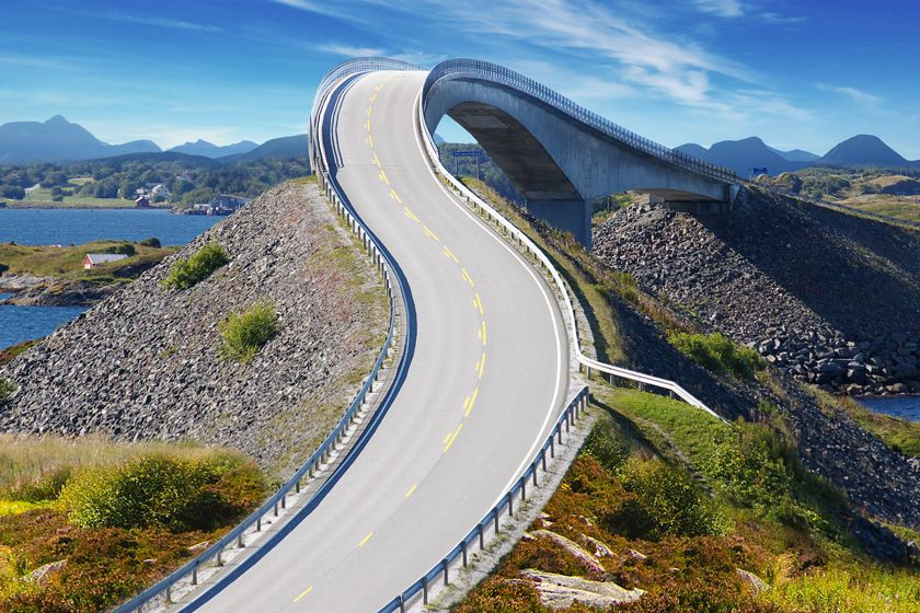 Bergen and The Atlantic Road