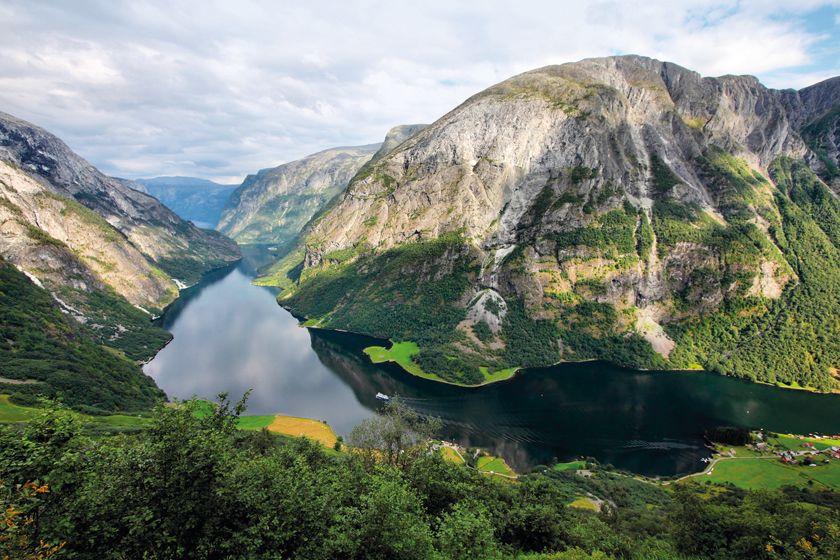 Naeroyfjord. Norway
