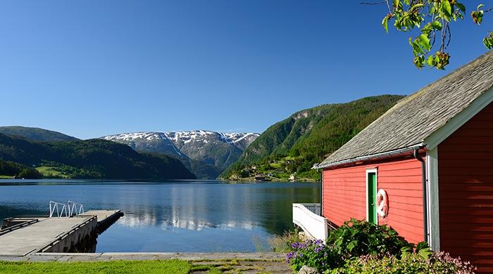 Brakanes Hotel Ulvik, Hardangerfjord