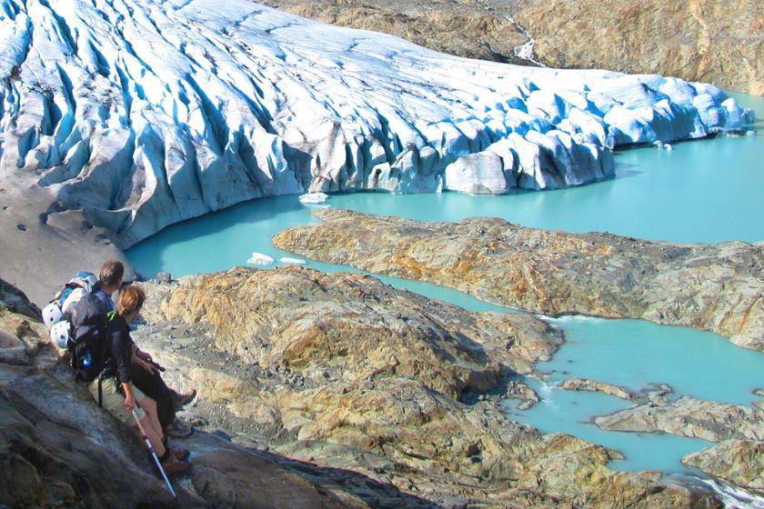 Glacier, Lyngen Alps