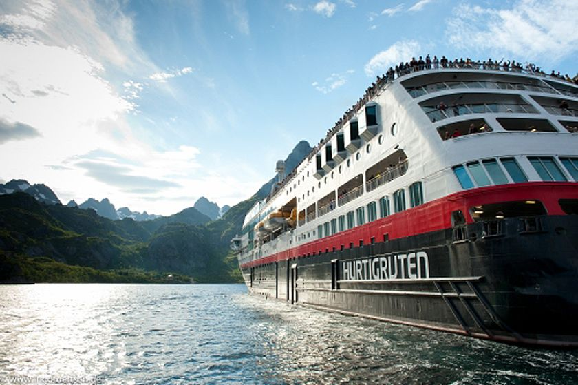 Hurtigruten cruise ship